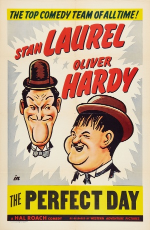 Laurel Hardy Perfect Day