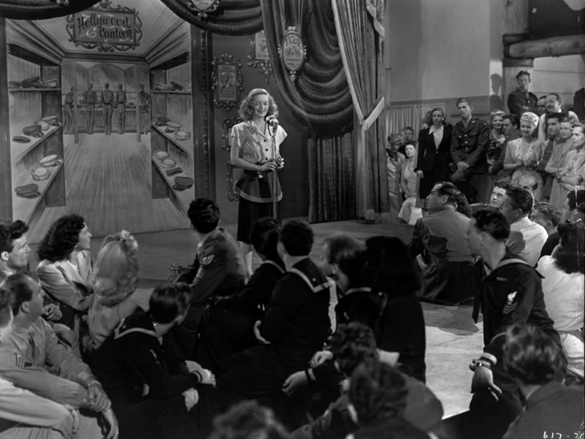 John Garfield, Bette Davis and Joan Leslie Hollywood ...