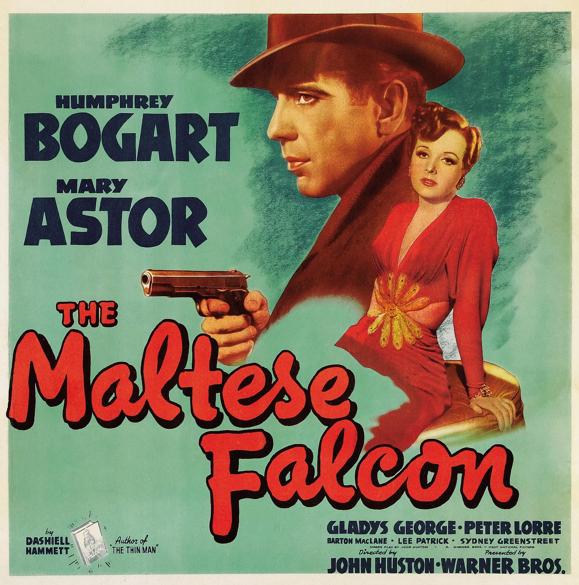Film Hail The Conquering Hero Poster Maltese Falcon The