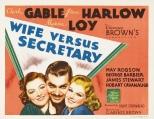 Wife Versus Secretary (1936)